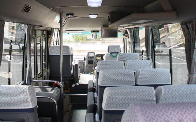 リフト付きマイクロバス・貸切バスハートフルサルーン22の詳細