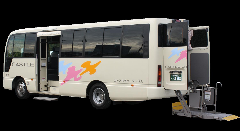 リフト付きマイクロバス ハートフルサルーン22